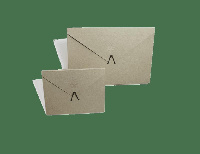 Graspapier-Produkte KISS MY WORLD
