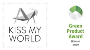 Kiss My World Logo