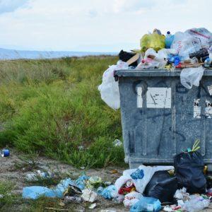 Müll, Konsum, Wiese, Abfall